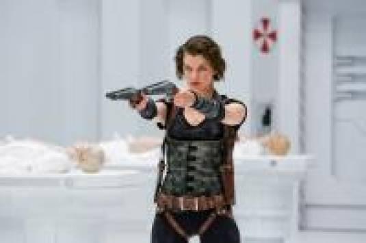 Кино: Resident Evil: Afterlife, первые кадры