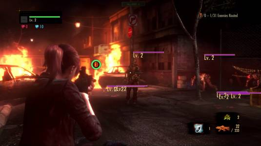 Resident Evil: Revelations 2, Barry's Campaign & Claire in Raid Mode