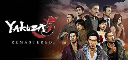 Yakuza 5 для PlayStation 3 поступила в продажу на Западе