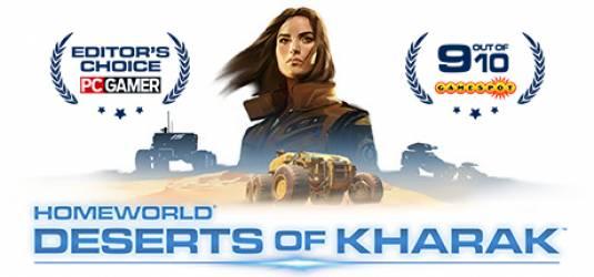 Homeworld: Deserts of Kharak уже доступен в Steam