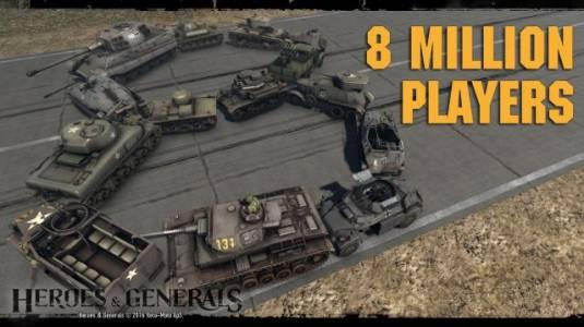 Heroes & Generals: два года в Steam и 8 миллионов зарегистрированных игроков