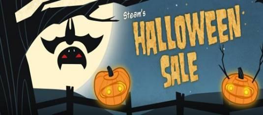 Хэллоуинская распродажа в Steam (28 октября - 1 ноября)