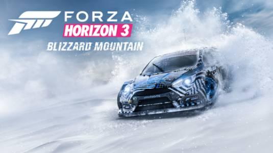 Объявлена дата выхода дополнения Blizzard Mountain для Forza Horizon 3