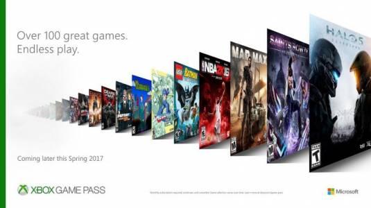 Microsoft анонсировала новый сервис Xbox Game Pass