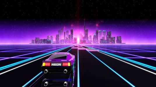 Neon Drive - Анонс выхода на PS4