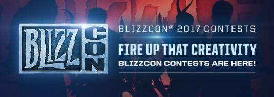 Blizzard начала принимать заявки на участие в конкурсах посвященных Blizzcon2017