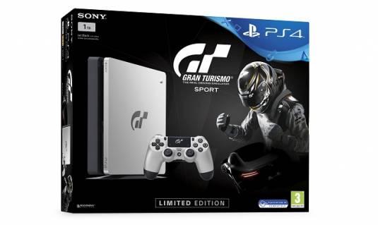 Лимитированная серия консолей PlayStation 4 будет посвящена Gran Turismo Sport