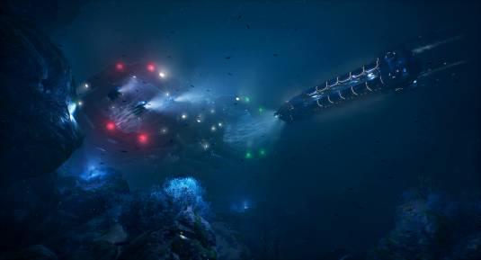 Aquanox: Deep Descent - шутер от первого лица о подводном транспорте