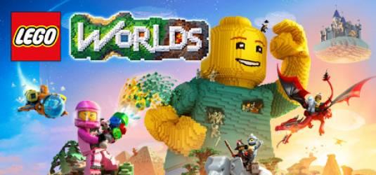 Состоялась премьера игры LEGO WORLDS на NINTENDO SWITCH