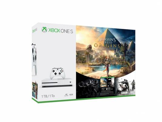 Комплекты Xbox One S с игрой Assassin's Creed: Истоки