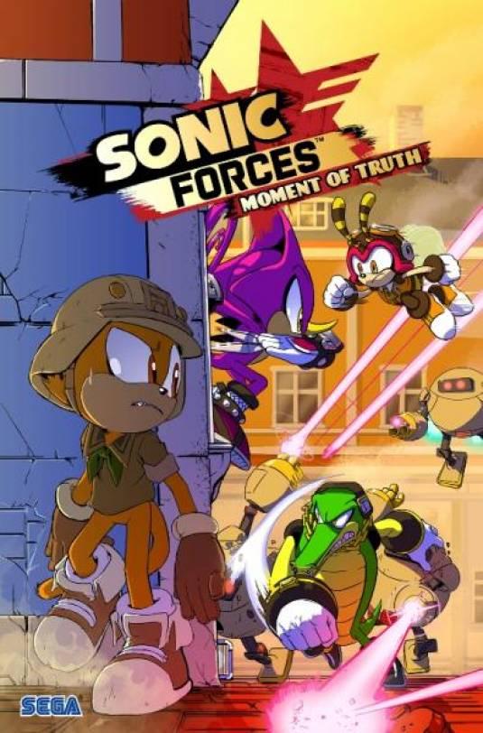Бесплатный цифровой комикс по мотивам Sonic Forces