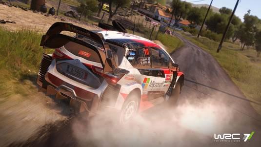 Гоночный симулятор WRC 7 появится в продаже 3 ноября!