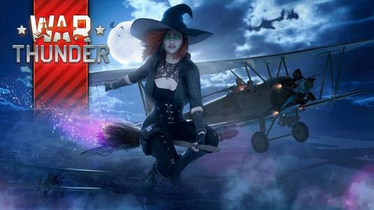 Хэллоуин в War Thunder: «Охота на ведьм» и «Жуткие гонки»