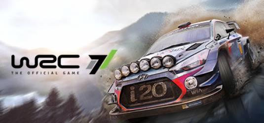 WRC 7. Российская премьера раллийного гоночного симулятора!