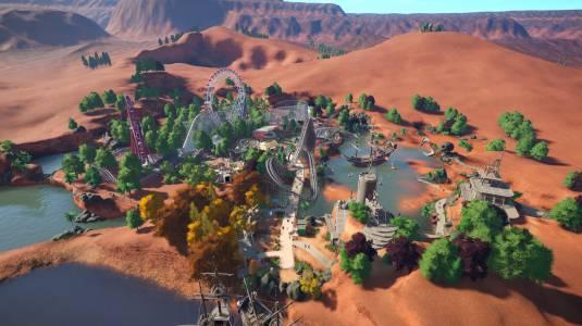 Anniversary Update 1.4 для игры Planet Coaster выйдет 22 ноября