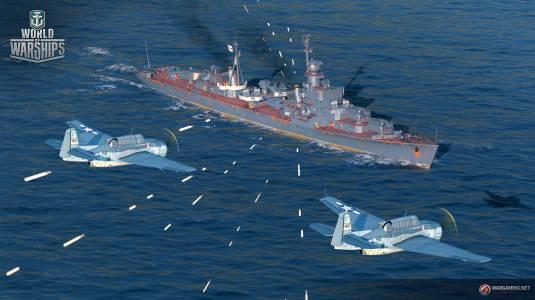 World of Warships - Обновление 0.6.13.