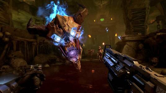 Doom VFR – перед гарнитурой PS VR и контроллером прицеливания не устоять ни одному демону