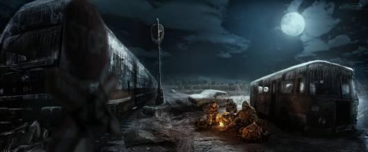 Metro Exodus - Свежие фан арты игры