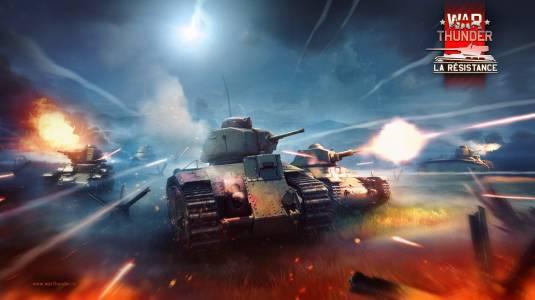 В War Thunder вышло обновление 1.75 «La Résistance» и «Новогодний марафон»!