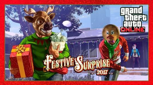 GTA Online - «Праздничный сюрприз 2017», Ubermacht Sentinel Classic и режим «Налет с захватом»