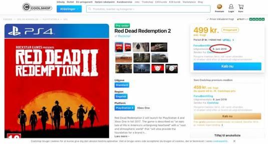 Red Dead Redemption 2 выйдет 8 июня 2018 года?