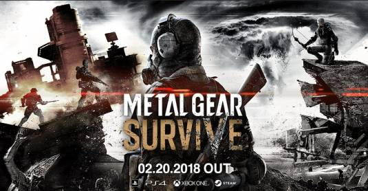 Metal Gear Survive - Стартовало ОТБ на PS4 и Xbox One