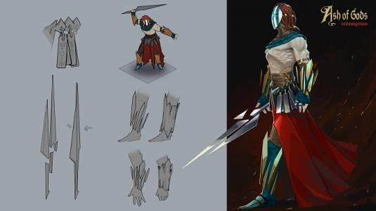 Ash of Gods - Подробности о сюжете игры
