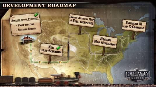 Railway Empire - О будущих обновлениях игры