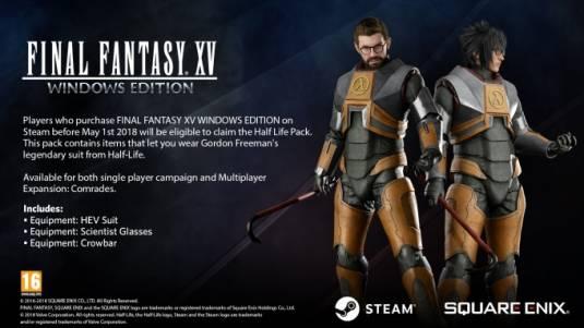 В демо-версию Final Fantasy XV для Windows можно будет поиграть на следующей неделе