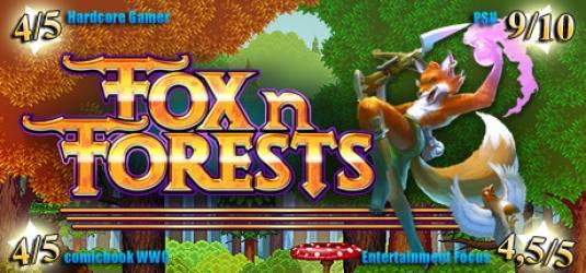 Геймплейный трейлер 16-битной FOX n FORESTS
