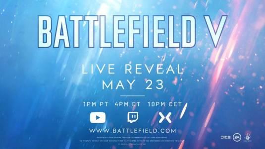 Battlefield V покажут 23 мая