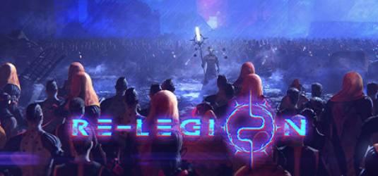 Футуристическая киберпанк-стратегия в реальном времени - Re-Legion, выйдет осенью 2018 года