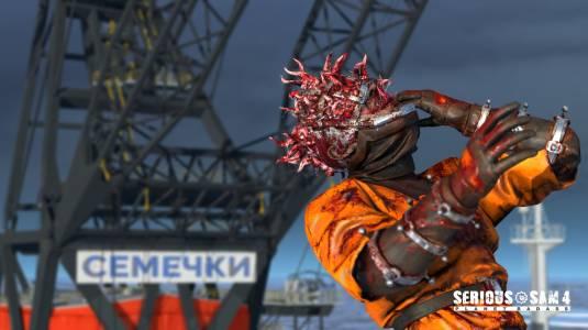 Новые скриншоты Serious Sam 4: Planet Badass