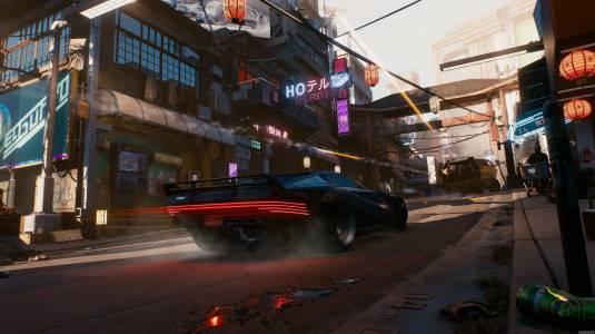 Первые официальные скриншоты Cyberpunk 2077