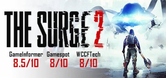 Первые геймплейные кадры The Surge 2
