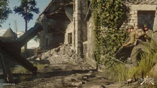 Новые геймплейные видео pre-alpha версии Enlisted