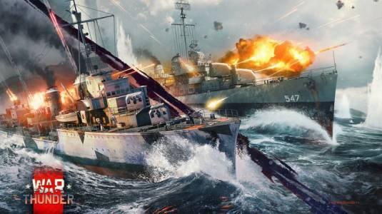 ЗБТ морских сражений в War Thunder и выход в ранний доступ на Xbox One