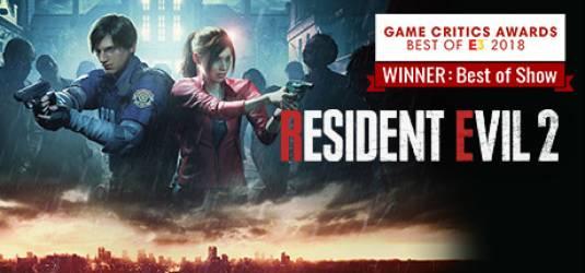 Видео демо Resident Evil 2 Remake с E3 2018 в 4К