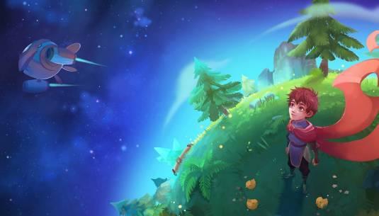 Маленькая планета Дейланд - это большое приключение для Маленького принца!