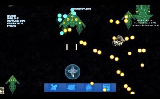 Asteroids Game - премьера проекта