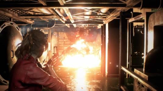 Resident Evil 2 Remake - скриншоты Клэр Редфилд