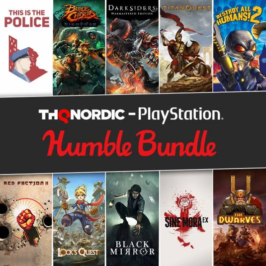 THQ Nordic - 11 игр для PS4 за 15 баксов
