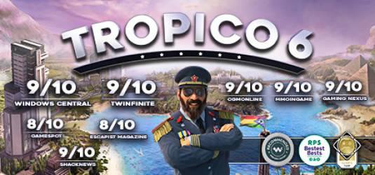 Tropico 6 перенесен и бонусы за ожидание