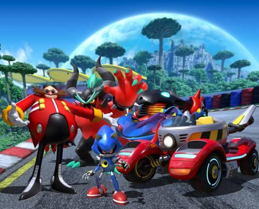Злодейская команда доктора Эггмана выходит на старт в Team Sonic Racing