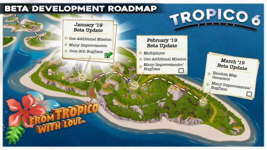 Kalypso поделилась планами на бета-версию Tropico 6