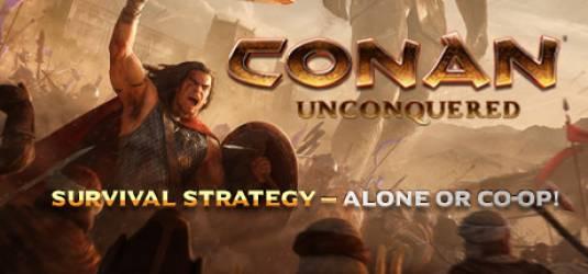 Первый геймплейный ролик Conan Unconquered
