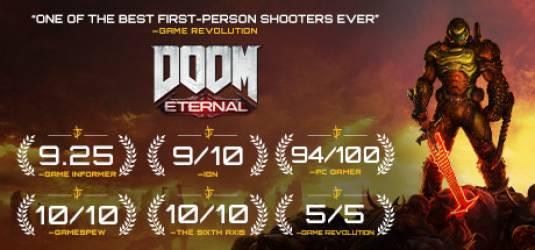 Релиз DOOM Eternal состоится 22 ноября, а так же смотрите новый экшн-трейлер с E3 2019
