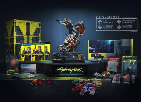 Предзаказ коллекционки Cyberpunk 2077 стартует 16 июля