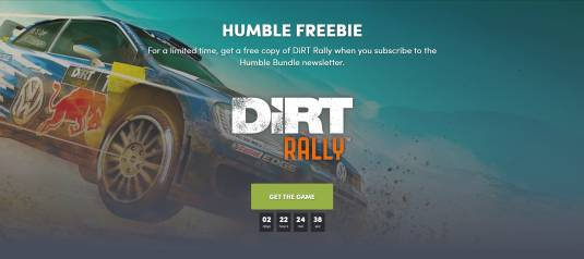 Humble Bundle раздает Dirt Rally