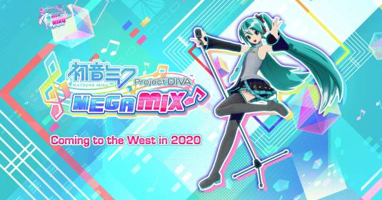 Hatsune Miku: Project DIVA Mega Mix - выйдет на Западе